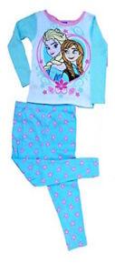 BNWT Licensed Disney Frozen Elsa Anna Winter Pyjamas PJs Sleep - Size 2T 3T