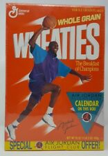 1991 WHEATIES CEREAL MICHAEL AIR JORDAN CHICAGO BULLS MINT SEALED 18 OZ BOX MIB!
