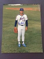 RON DARLING SIGNED 8X10 PHOTO AUTO AUTOGRAPH, NEW YORK METS #3