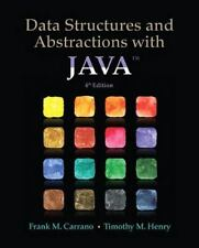 Data Structures and Abstractions with Java (4th Edition) by Carrano, Frank M.,