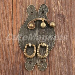 Unique Gift Case Jewelry Box Buckle Toggle Latch Hasp Catch Clasp European Style