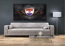 Wandtattoo/Aufkleber Kroatien Croatia Hrvatska Fahne flag