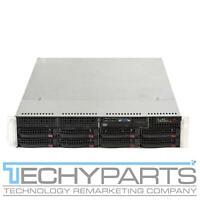 SUPERMICRO 6026T-URF X8DTU-F 2x Intel Xeon E5520 2.26Ghz 6GB 1U Server