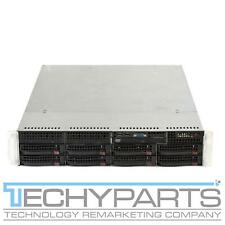 SUPERMICRO 6026T-URF X8DTU-F 2x Intel Xeon E5520 2.26Ghz 6GB 1U Server
