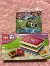 Lego Friends Buildable Jewellery Box 40114 - Gift Bag Set Brand New Sealed