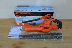 Bare Tool Black+Decker LSW40C 40v Cordless Hard Surface Blower Sweeper $149