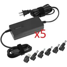 Lot 5 x Insignia Universal 90W Laptop Notebook Power Adapter  Charger NS-PWLC591