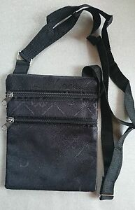 TRAVEL SECURITY NECK WALLET Passport Money Carry Case Holder Pouch Bag Purse zip