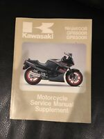 Kawasaki Ninja 600R GPX 600R GPX500R 500R Motorcycle Service Manual Supplement