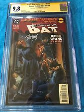 Batman: Shadow of the Bat #23 - DC -CGC SS 9.8 - Signed by Stelfreeze Blevins