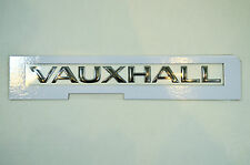GENUINE VAUXHALL MOVANO / VIVARO REAR DOOR BADGE / EMBLEM - NEW 91167832