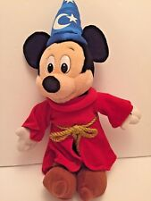 Mickey Mouse Plush Disney World Sorcerer Wizard