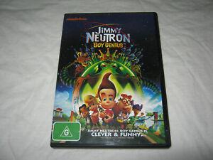 Jimmy Neutron Boy Genius - VGC - DVD - R4