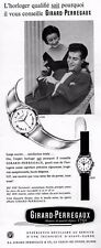 ▬► Publicité Montre Watch GIRARD-PERREGAUX Gyromatic Original French Print ad
