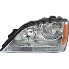 For Sorento 05-06, Driver Side Headlight, Clear Lens