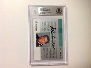 Muhammad Ali Signed 1992 Proline Portraits Card Slabbed Beckett BAS BGS a