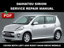 DAIHATSU SIRION 2004 2005 2006 2007 2008 2009 2010 SERVICE WORKSHOP FSM MANUAL