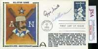 Ozzie Smith Willie Mcgee JSA Coa Autograph Hand Signed 1983 FDC Cache