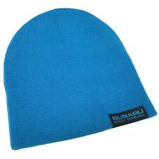 Subaru Rally Team USA Blue Knit Beanie Hat Skull Cap Officially Licensed
