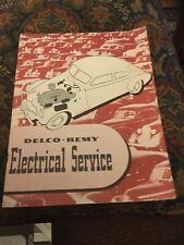 Vintage 1950 Delco Remy Electrical Service Dealer 21 Pg Catalog O