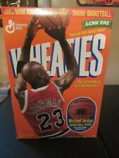 MICHAEL JORDAN (NIB) 1997 Low Fat Wheaties Cereal Box 18oz Chicago Bulls *RARE*