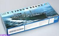 Trumpeter 05308 1/350 Liberty Ship SS John W. Brown Hot