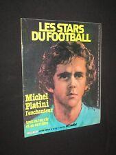 MAGAZINE MONDIAL HORS-SERIE N° 9 1980 LES STARS DU FOOTBALL MICHEL PLATINI ASSE