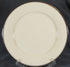 "Noritake COUNTESS 7223 Dinner Plates (M2) 10 5/8"" Cream with Platinum Trim"