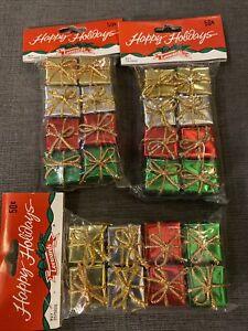 "Vintage Christmas Ornaments PRESENTS 1"" Table Top Tree - Craft - Leewards"