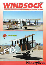 Windsock International V.14 N.6 DH 9 Schutte Lanz Fighter Biplane Italy Seaplane
