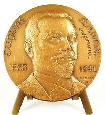 Medaille constructeur de char Eugène Brillié record Gobron-Brillié 1904 medal