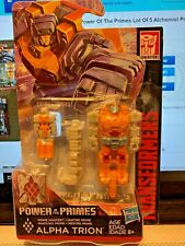 TRANSFORMERS POWER OF THE PRIMES ALPHA TRION, Generations Prime Master 2018 LQQK