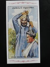 No.42 INDIAN HAVING HIS HAIR COILED The Great War Series REPRO of Gallaher 1915