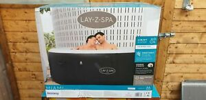 Lay Z Spa Miami 4 Person Hot Tub 2021 Model Freeze Shield Brand NEW inc WARRANTY