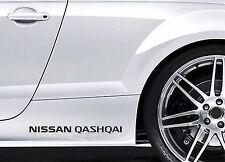 2x Side Skirt Stickers fits Nissan Quasquai Premium Car Premium Car Decals BL59