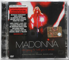 MADONNA I'M GOING TO TELL YOU A SECRET CD + DVD 2006