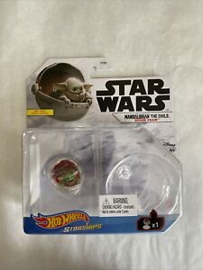 Hot Wheels Star Wars Starships Mandalorian Baby Yoda the Child Hover Pram Disney