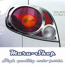 Chrome Rear Tail Light Lamp Cover Trim for 00~05 Chevrolet Spark/Matiz/Exclusive