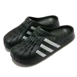 adidas Adilette Clog Black Silver Men Women Unisex Sandals Slides Slipper FY8969