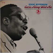 EDDIE JEFFERSON: Come Along with Me USA Prestige Vocal Jazz Charles McPherson LP