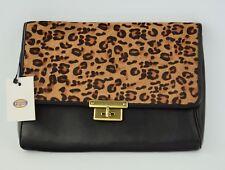 NWT Fossil Memoir Black Clutch Handbag SL4326 (SL4326001), New
