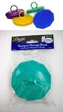 Diane 8145 Shampoo Shower Massage Brush ( GREEN)