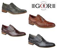 MENS SMART Wedding Shoes - Oxblood Brown Black Grey  Size 6 7 8 9 10 11 12 13 14