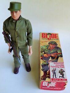 HASBRO GI JOE ACTION SOLDIER AMERICA'S MOVABLE FIGHTING MAN ACTION FIGURE