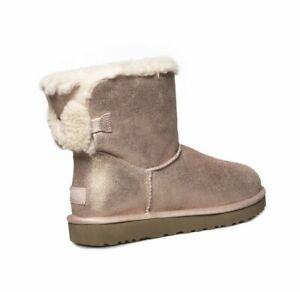 Women's UGG Arielle Sparkle Rose Gold Boots