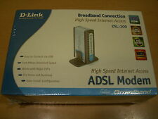 MODEM ADSL D-LINK DSL-200 NUEVO USB