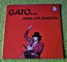 """Gato...Para Los Amigos!! / Gato Barbieri / 1983 Doctor Jazz Records 2-12""""LP Set"""