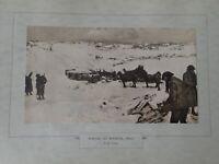 Winter At Mametz 1916-17 by F.R. Crozier  (N28)