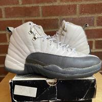Nike Air Jordan 12 XII Retro Flint Grey 2003 Size 10.5 Sneakers With Box Shoes
