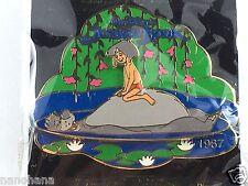 Disney Pin Japan M&P LE 2400 THE JUNGLE BOOK 1967 Baloo & Mowgli History of Art